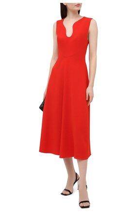 Женское платье VICTORIA BECKHAM красного цвета, арт. 1121WDR002329A | Фото 2