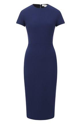 Женское платье VICTORIA BECKHAM темно-синего цвета, арт. 1121WDR002372A | Фото 1