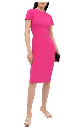 Женское платье VICTORIA BECKHAM розового цвета, арт. 1121WDR002372B | Фото 2