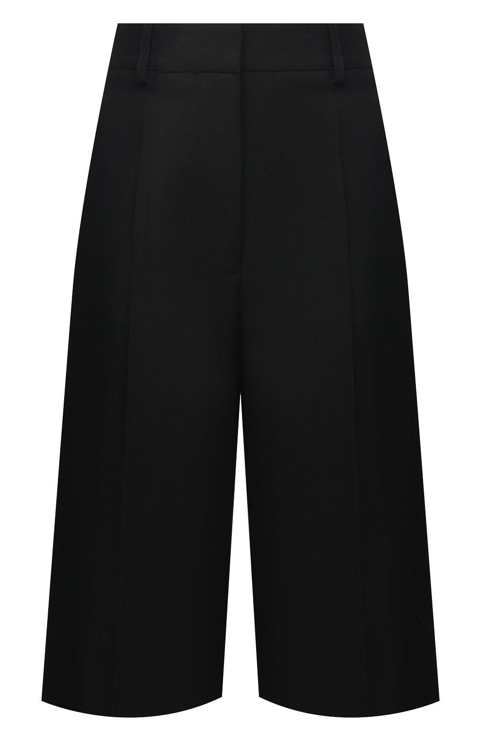 Женские шорты VICTORIA BECKHAM черного цвета, арт. 1121WTR002337A   Фото 1