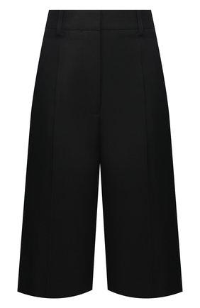 Женские шорты VICTORIA BECKHAM черного цвета, арт. 1121WTR002337A | Фото 1