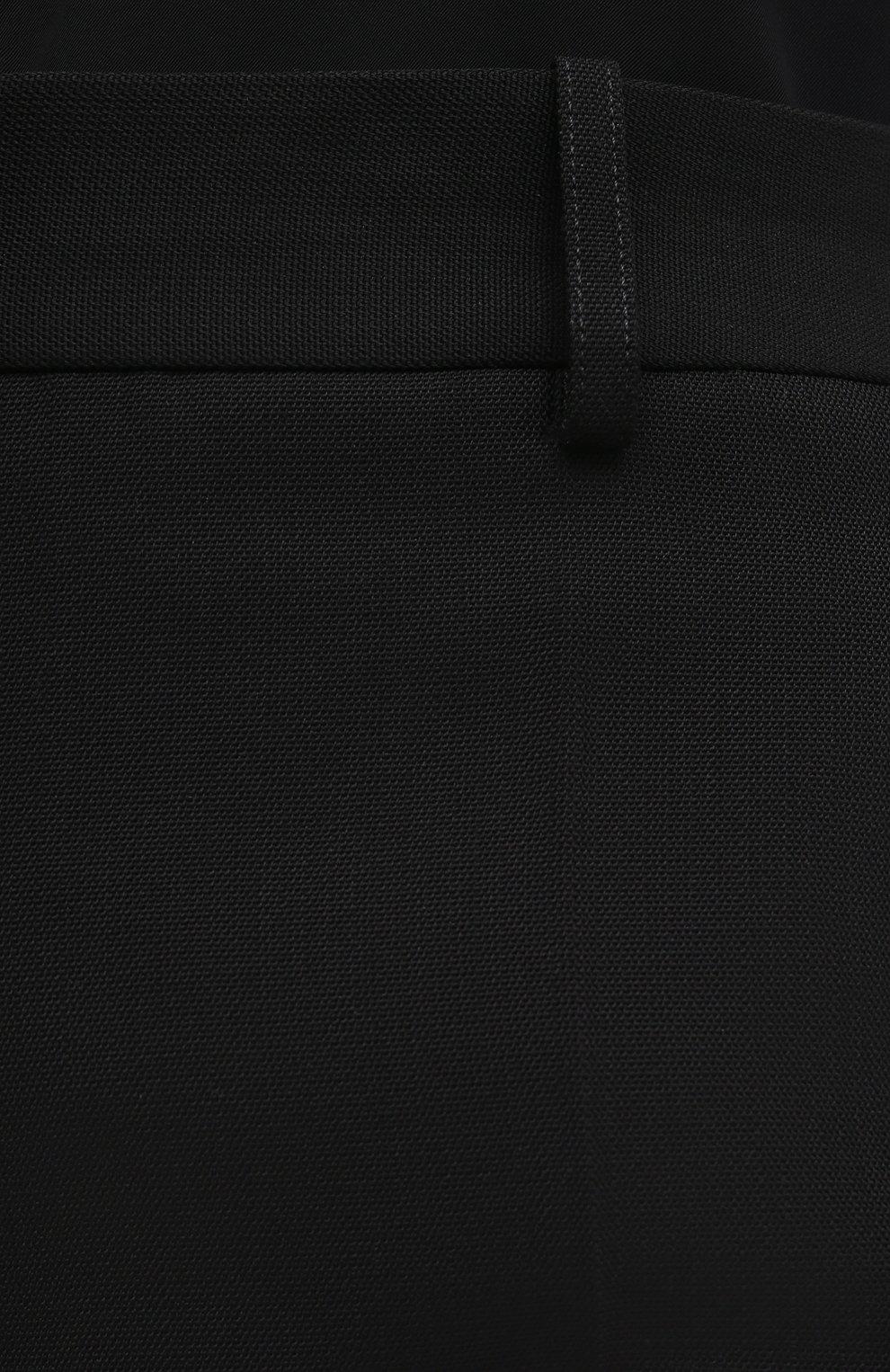 Женские шорты VICTORIA BECKHAM черного цвета, арт. 1121WTR002337A   Фото 5