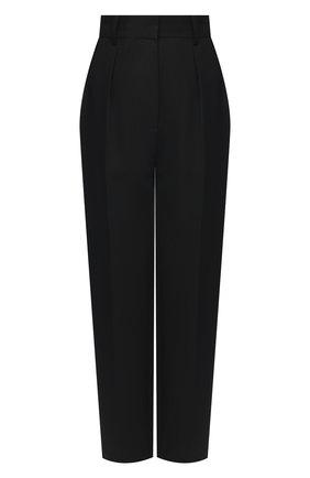 Женские брюки VICTORIA BECKHAM черного цвета, арт. 1121WTR002593A | Фото 1