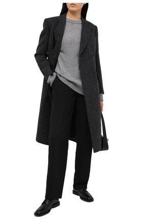 Женские брюки VICTORIA BECKHAM черного цвета, арт. 1121WTR002593A | Фото 2