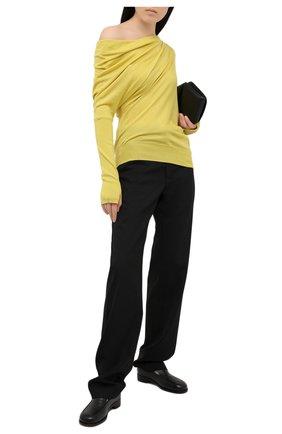 Женский кашемировый пуловер TOM FORD желтого цвета, арт. MAK697-YAX087 | Фото 2