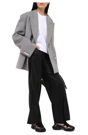 Женские текстильные кроссовки climbers VALENTINO черного цвета, арт. VW2S0U78/DRZ | Фото 2