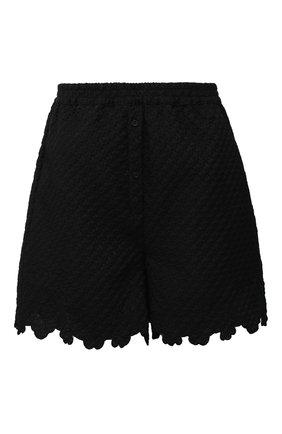 Женские шорты CECILIE BAHNSEN черного цвета, арт. SC21-0059 | Фото 1