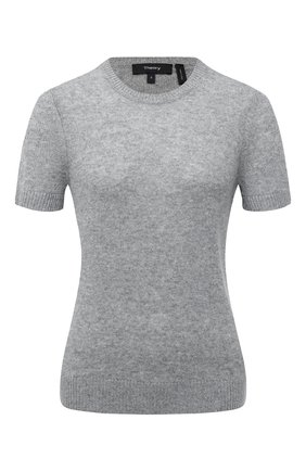 Женский кашемировый топ THEORY светло-серого цвета, арт. J0118706 | Фото 1