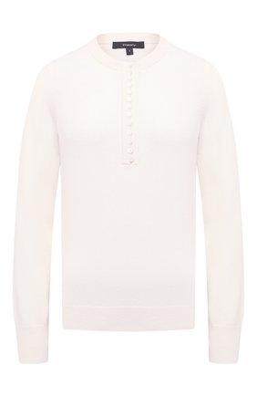 Женский кашемировый пуловер THEORY кремвого цвета, арт. J1018703 | Фото 1