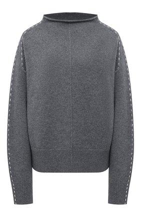 Женский шерстяной свитер HELMUT LANG серого цвета, арт. K06HW719 | Фото 1