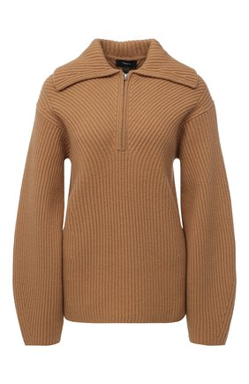 Женский шерстяной свитер THEORY бежевого цвета, арт. K1111710 | Фото 1