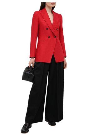 Женский льняной жакет BRUNELLO CUCINELLI красного цвета, арт. MH5062060 | Фото 2