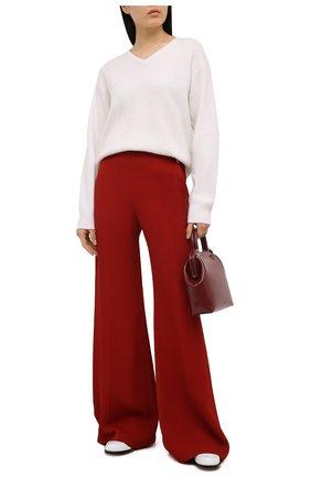 Женский кашемировый пуловер TOM FORD белого цвета, арт. MAK1049-YAX293 | Фото 2