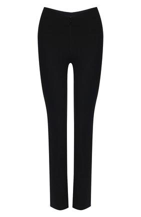 Женские брюки из хлопка и вискозы ALEXANDER WANG черного цвета, арт. 1WC2194172 | Фото 1
