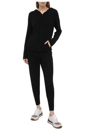 Женский кашемировый кардиган ARLOTTA черного цвета, арт. 3220 | Фото 2