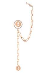 Женские серьга MESSIKA бесцветного цвета, арт. 11573-PG | Фото 1 (Материал сплава: Розовое золото; Драгоценные камни: Бриллианты)