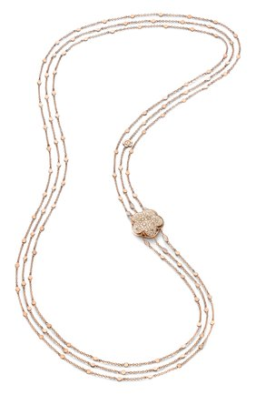 Женские колье PASQUALE BRUNI бесцветного цвета, арт. 14974R | Фото 1 (Драгоценные камни: Бриллианты; Материал сплава: Розовое золото)