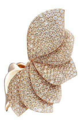 Женские кольцо PASQUALE BRUNI бесцветного цвета, арт. 16088R | Фото 1 (Драгоценные камни: Бриллианты; Материал сплава: Розовое золото)