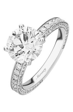 Женские кольцо MERCURY бесцветного цвета, арт. MR250WRDD_1 | Фото 1