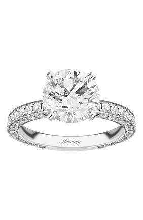 Женские кольцо MERCURY бесцветного цвета, арт. MR250WRDD_1 | Фото 2