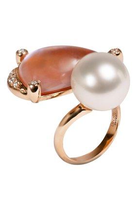 Женские кольцо UTOPIA бесцветного цвета, арт. PRTBA7 | Фото 1