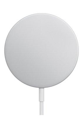 Зарядное устройство magsafe APPLE  серебряного цвета, арт. MHXH3ZE/A | Фото 1