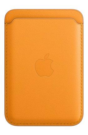 Мужского чехол-бумажник magsafe для iphone APPLE   цвета, арт. MHLP3ZE/A | Фото 1