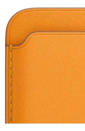 Мужского чехол-бумажник magsafe для iphone APPLE   цвета, арт. MHLP3ZE/A | Фото 2