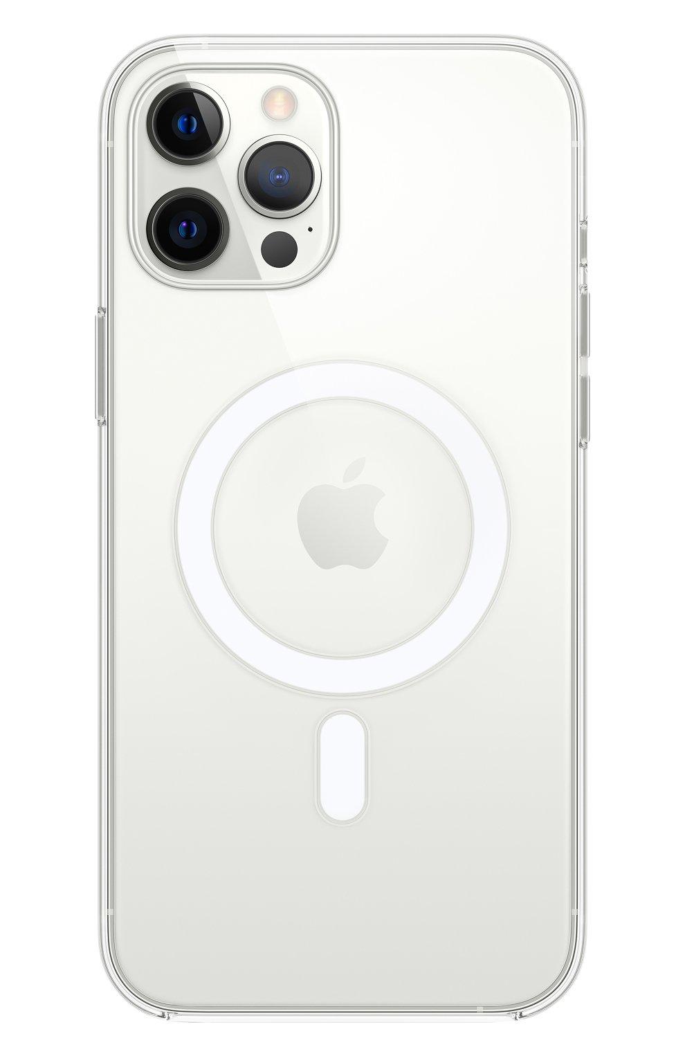 Чехол magsafe для iphone 12 pro max APPLE  прозрачного цвета, арт. MHLN3ZE/A | Фото 1