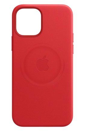 Мужской чехол magsafe для iphone 12 pro max APPLE  (product)red цвета, арт. MHKJ3ZE/A | Фото 1