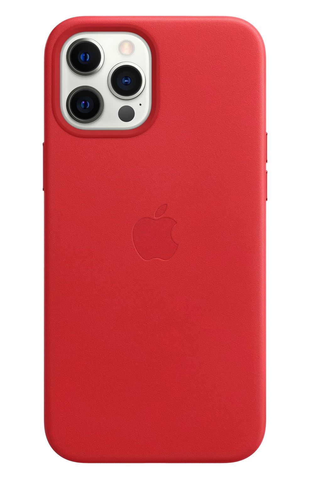Чехол magsafe для iphone 12 pro max APPLE  (product)red цвета, арт. MHKJ3ZE/A | Фото 2