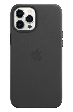 Чехол magsafe для iphone 12 pro max APPLE  black цвета, арт. MHKM3ZE/A | Фото 2