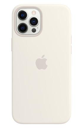 Чехол magsafe для iphone 12 pro max APPLE  white цвета, арт. MHLE3ZE/A | Фото 1