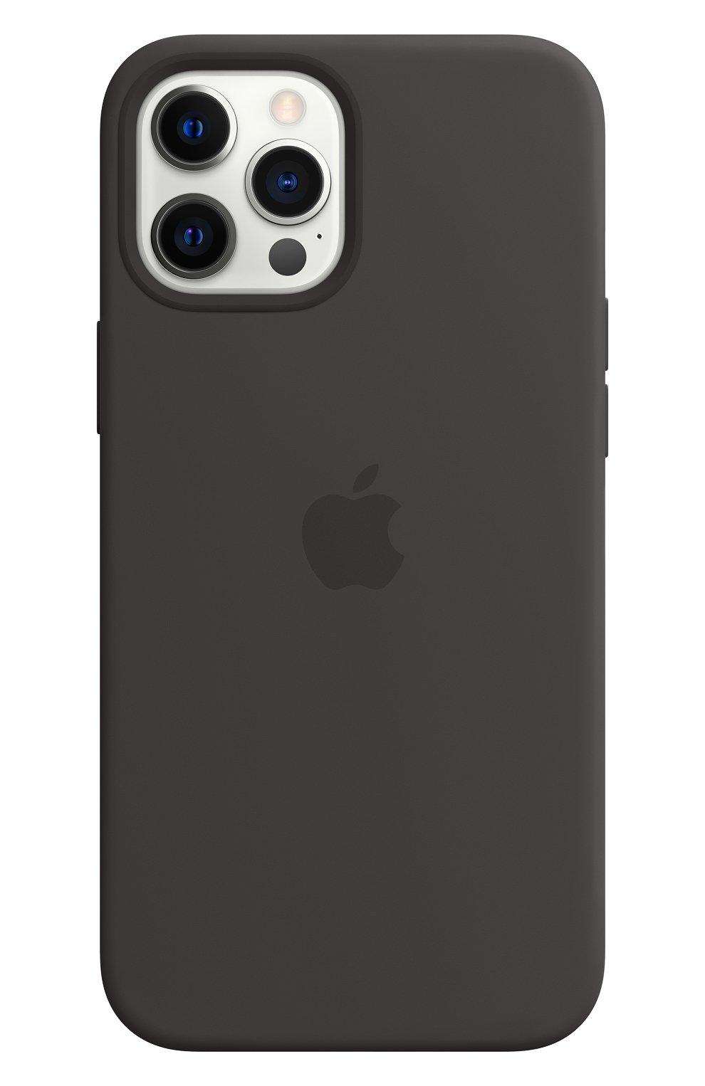 Чехол magsafe для iphone 12 pro max APPLE  black цвета, арт. MHLG3ZE/A | Фото 1