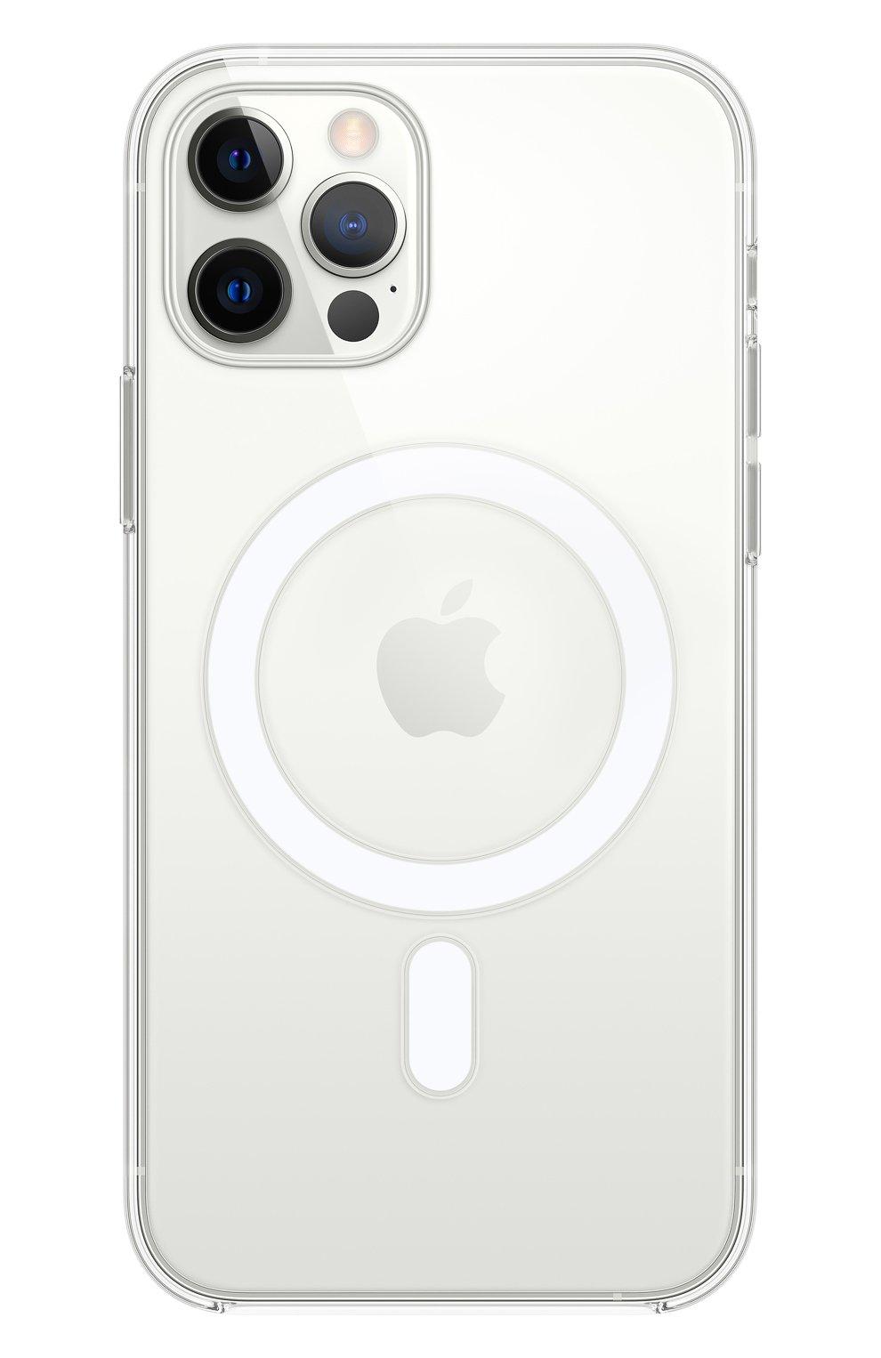 Чехол magsafe для iphone 12/12 pro APPLE  прозрачного цвета, арт. MHLM3ZE/A | Фото 1