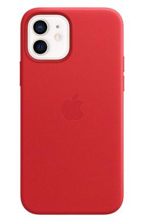 Мужской чехол magsafe для iphone 12/12 pro APPLE  (product)red цвета, арт. MHKD3ZE/A | Фото 2