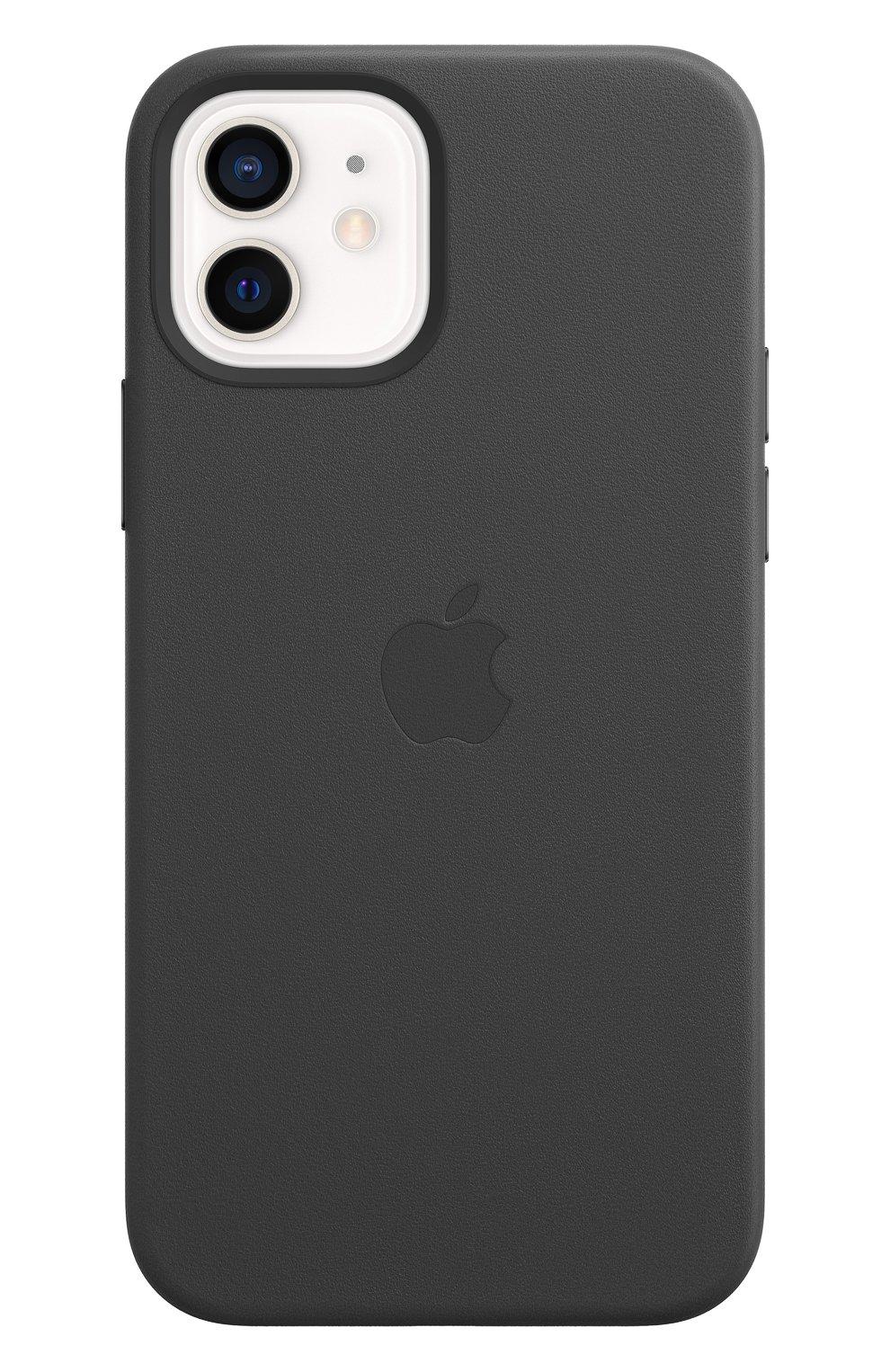 Чехол magsafe для iphone 12/12 pro APPLE  black цвета, арт. MHKG3ZE/A | Фото 2