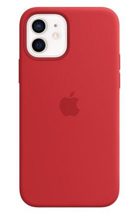 Мужской чехол magsafe для iphone 12/12 pro APPLE  (product)red цвета, арт. MHL63ZE/A | Фото 1