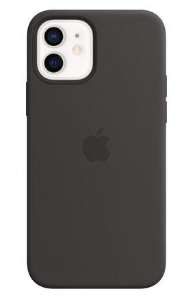 Мужской чехол magsafe для iphone 12/12 pro APPLE  black цвета, арт. MHL73ZE/A | Фото 1