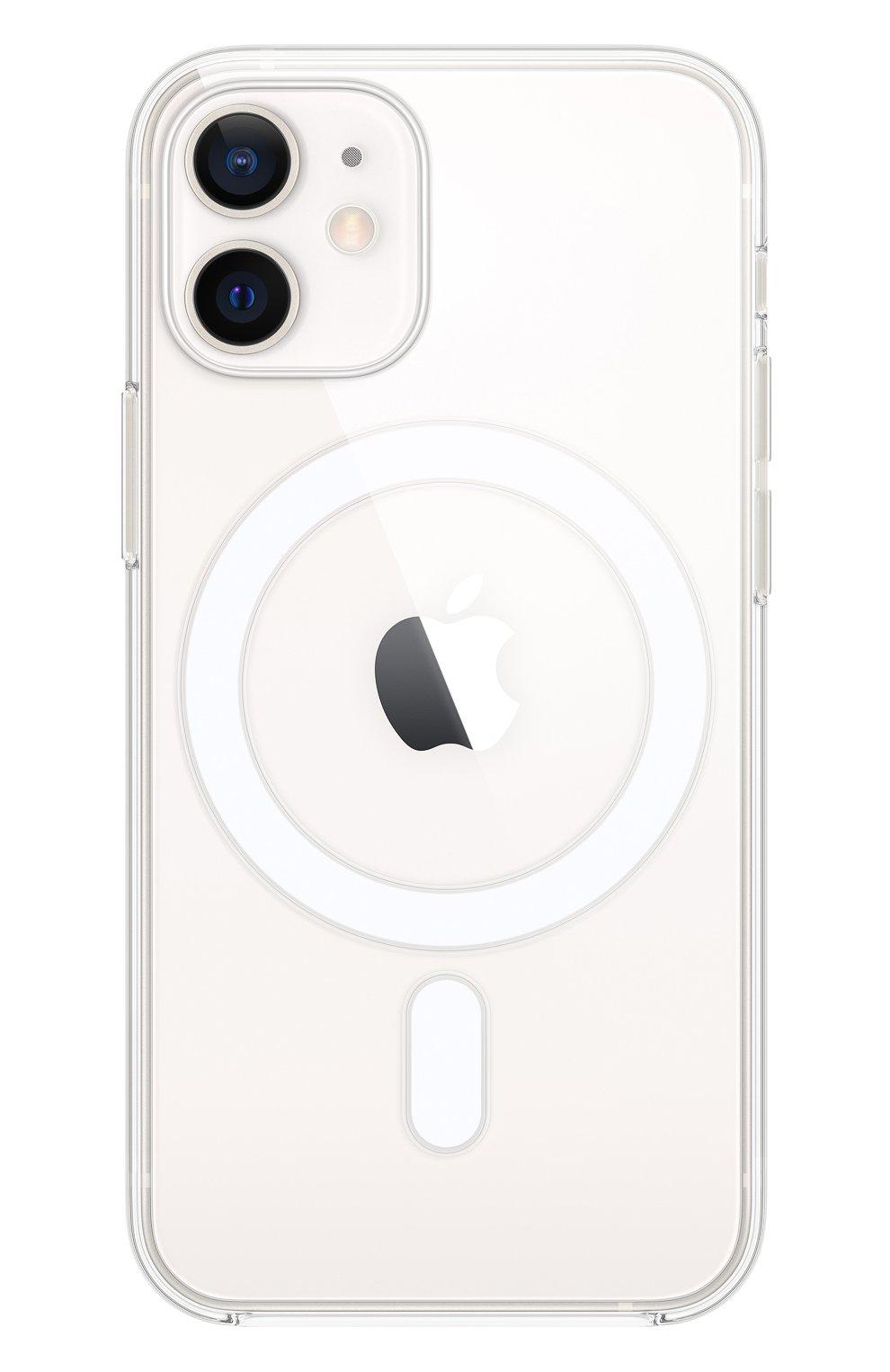 Чехол magsafe для iphone 12 mini APPLE  прозрачного цвета, арт. MHLL3ZE/A   Фото 1