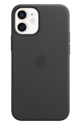Мужской чехол magsafe для iphone 12 mini APPLE  black цвета, арт. MHKA3ZE/A | Фото 2