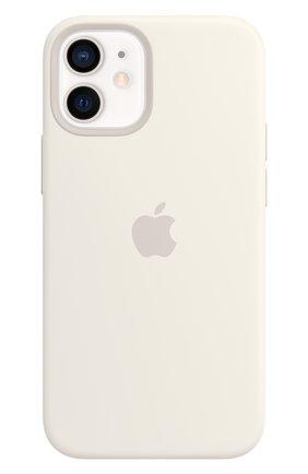 Чехол magsafe для iphone 12 mini APPLE  white цвета, арт. MHKV3ZE/A | Фото 1