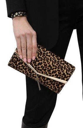 Женский клатч elish JIMMY CHOO леопардового цвета, арт. ELISH/HYT | Фото 2