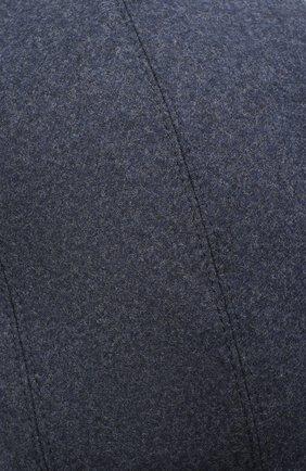 Мужская шерстяное кепи BRUNELLO CUCINELLI синего цвета, арт. M038P9958   Фото 3