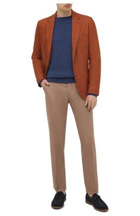Мужской пиджак из шелка и кашемира LORO PIANA оранжевого цвета, арт. FAI2572 | Фото 2
