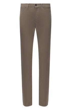 Мужские джинсы TOM FORD коричневого цвета, арт. BWJ41/TFD002   Фото 1