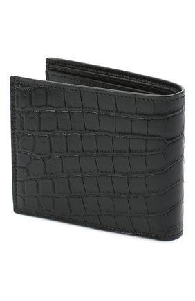 Мужской кожаное портмоне SAINT LAURENT черного цвета, арт. 610193/DZEDW | Фото 2