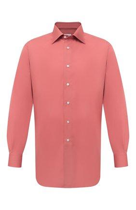 Мужская хлопковая сорочка BRIONI бордового цвета, арт. RCA20M/P006B | Фото 1