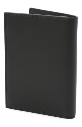 Мужской кожаная обложка для паспорта valentino garavani VALENTINO черно-белого цвета, арт. VY2P0R66/LVN | Фото 2