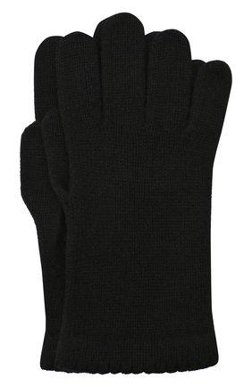 Женские перчатки BILANCIONI черного цвета, арт. 4908GU   Фото 1